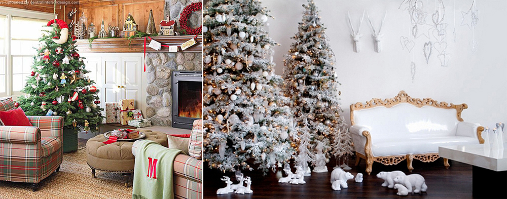 10 Gorgeous Christmas Tree Decorating Ideas!