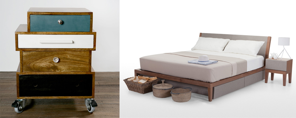 Quirky Bedside Tables 10 great pieces of furniture for your bedroom - interior designers