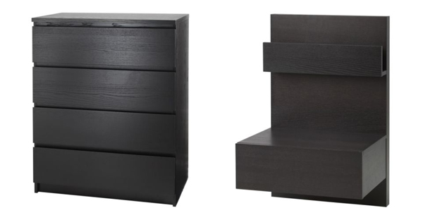 ikea malm nightstand discontinued. Black Bedroom Furniture Sets. Home Design Ideas