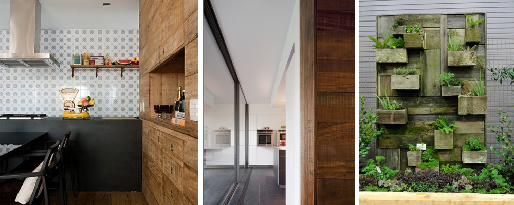 8 Great ways to use reclaimed wood!