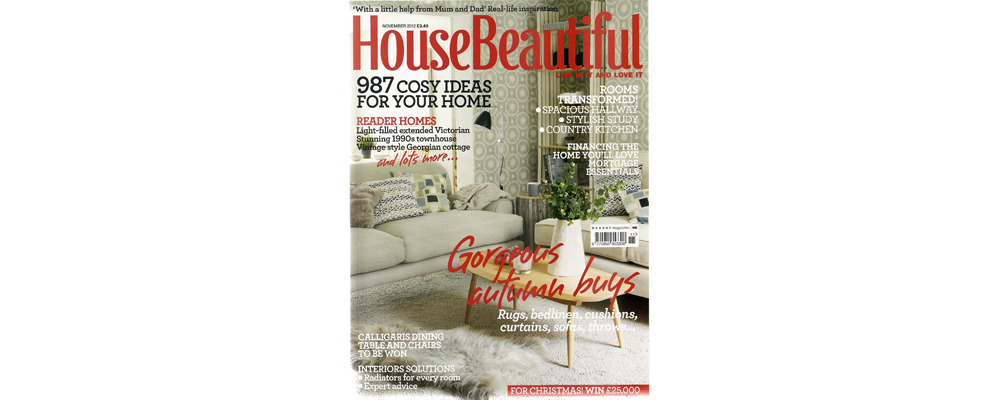 House Beautiful November 2012