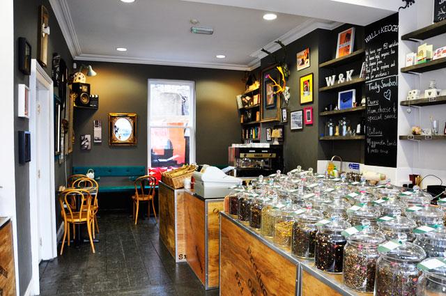 Wall & Keogh Tea House, Dublin.