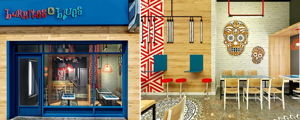 Burritos and Blues Restaurant…..Redesign!