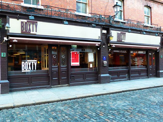 Boxty House, Dublin.