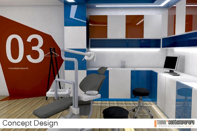 Dental clinic concept design interior designers dublin interior design portfolio think for Dental clinic interior design concept