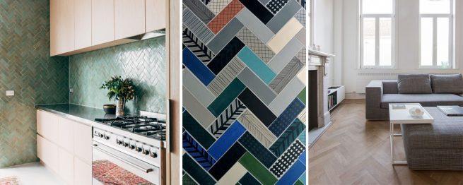 16 herringbone interior design ideas