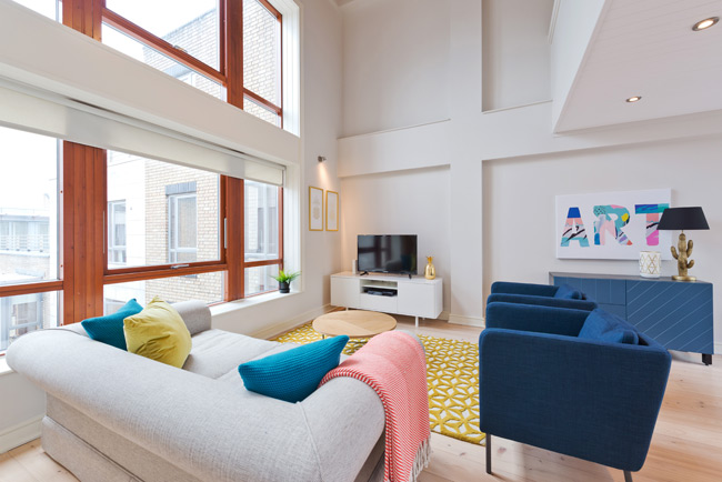 Quartiere Bloom Apartment, Dublin 1.